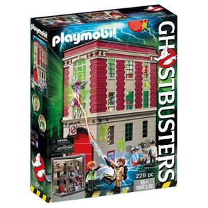 PLAYMOBIL Ghostbusters™: Cuartel Parque de Bomberos Ghostbusters (9219)