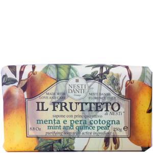 Nesti Dante Il Frutteto Mint and Quince Pear Soap 250 g