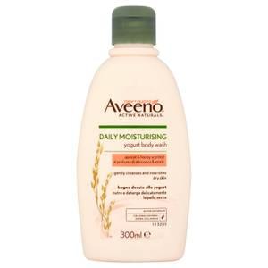 Gel douche hydratant à usage quotidien Aveeno - Abricot et Miel 300 ml