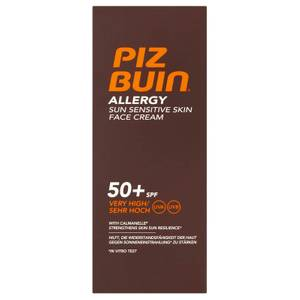 Piz Buin Allergy Sun Sensitive Skin Face Cream - Very High SPF50+ 50ml