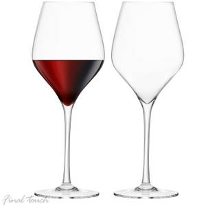 Final Touch Durashield Red Wine Glasses 620ml (Set of 2)