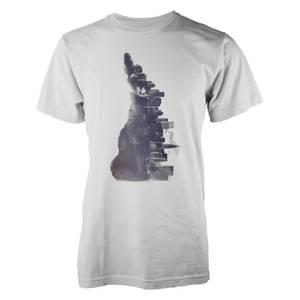 Farkas Fox From The City Männer T-Shirt