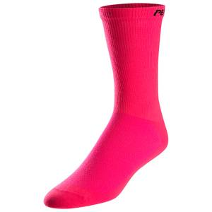 Pearl Izumi Attack Tall Socks 3 Pack - Screaming Pink
