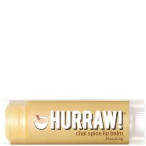 Бальзам для губ с ароматом чайных специй Hurraw! Chai Spice Lip Balm