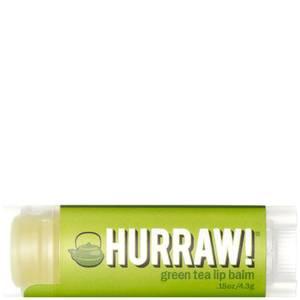 Бальзам для губ с ароматом зеленого чая Hurraw! Green Tea Lip Balm