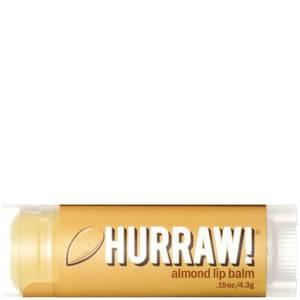 Бальзам для губ с ароматом миндаля Hurraw! Almond Lip Balm