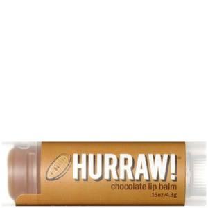 Бальзам для губ с ароматом шоколада Hurraw! Chocolate Lip Balm