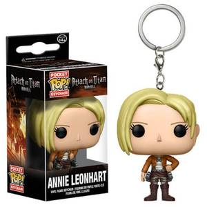 Attack on Titan Annie Leonhart Pocket Funko Pop! Keychain