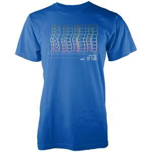I'm So Retro Men's Blue T Shirt
