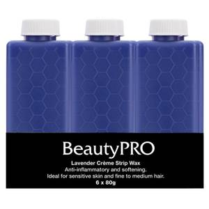 BeautyPro Lavender Creme Strip Wax 6 x 80g