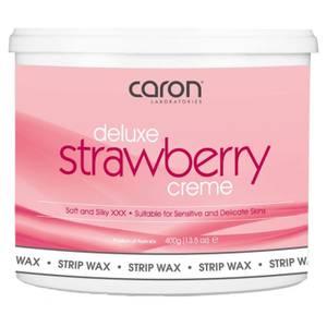 Caron Strawberry Creme Microwaveable Strip Wax 400ml