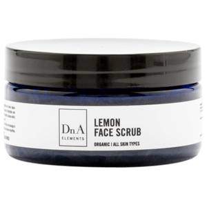 DnA Elements Organic Lemon Face Scrub 100g