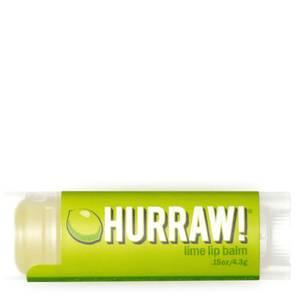 Бальзам для губ с ароматом лайма Hurraw! Lime Lip Balm 4,3 г
