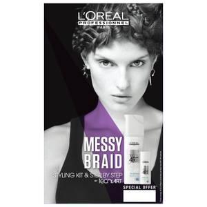 L'Oréal Professionnel Tecni.ART Messy Braid Styling Duo Kit