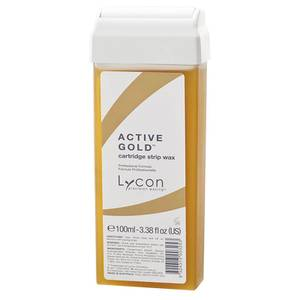 Lycon Active Gold Cartridge Strip Wax 100ml