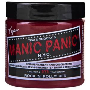Manic Panic Semi-Permanent Hair Color Cream - Rock 'N' Roll Red 118ml