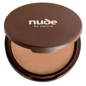 nude by nature Pressed Mineral Cover Foundation - Medium 10g