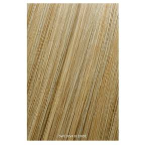 Showpony Professional Clip In Hair Extensions Heat Resistant Synthetic Style 406 - Swedish Blonde 18 Inches