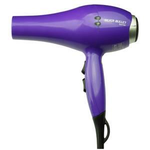 Silver Bullet Professional Hair Dryer - Purple Satin