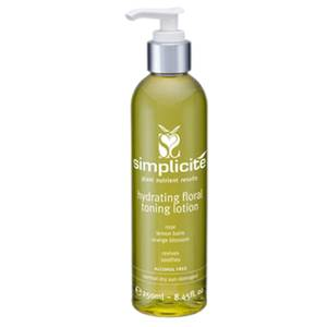 Simplicite Hydrating Floral Toning Lotion Normal/Dry 250ml