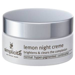 Simplicite Lemon Night Crème 55g