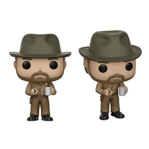 Figurine Pop! Hopper avec Donut Stranger Things