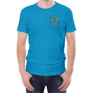 Xisuma Pocket Protector Blue T-Shirt