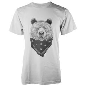 Balazs Solti Wild Bear White T-Shirt