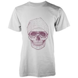 Balazs Solti Cool Skull White T-Shirt