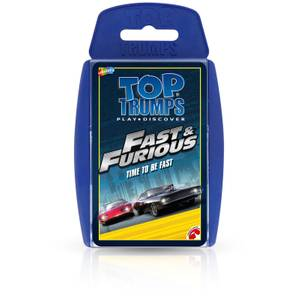 Top Trumps Card Game - Fast & Furious Edition