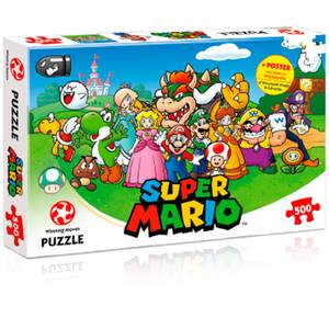 500 Piece Jigsaw Puzzle - Mario Kart and Friends Edition