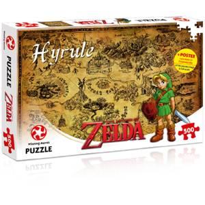 500 Piece Jigsaw Puzzle - Zelda Hyrule Field Edition