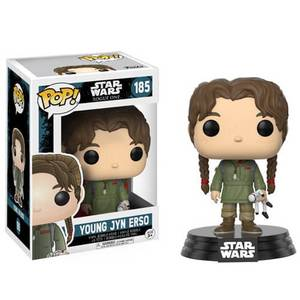 Star Wars Rogue One Wave 2 Young Jyn Erso Figura Pop! Vinyl