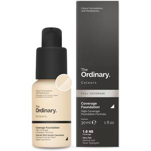 The Ordinary Coverage Foundation 30ml (Various Shades)