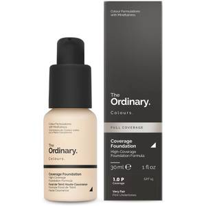 The Ordinary Coverage Foundation with SPF 15 by The Ordinary Colours podkład z filtrem (różne odcienie)