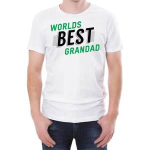 World's Best Grandad Men's White T-Shirt
