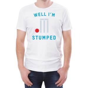 Well I'm Stumped Men's White T-Shirt