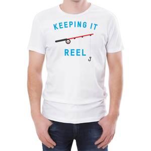 Keeping It Reel Men's White T-Shirt