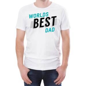 World's Best Dad Men's White T-Shirt