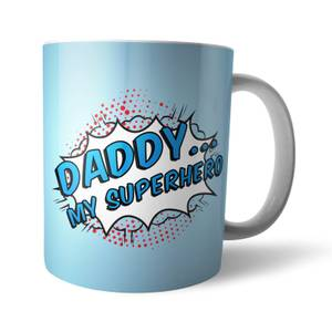 Daddy My Superhero Mug