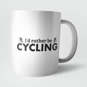 I'd Rather Be Cycling Mug