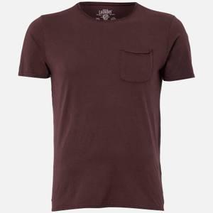 T-Shirt Homme Hella Cotton Jersey Tokyo Laundry - Bordeaux