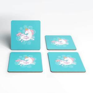 Pretty Magical Unicorn Coasters