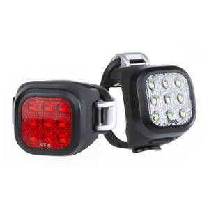 Knog Blinder Mini Niner Lightset - Black
