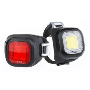 Knog (ノグ) Blinder Mini Chippy ライトセット - ブラック