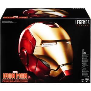 Casco Iron Man Electrónico - Hasbro Marvel Legends (1:1)