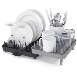 Joseph Joseph Connect 3 Piece Dish Drainer - Grey