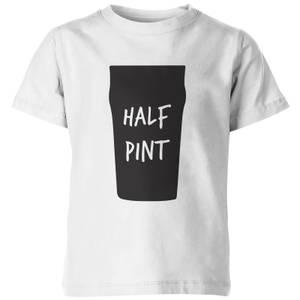 My Little Rascal Kids Half Pint White T-Shirt