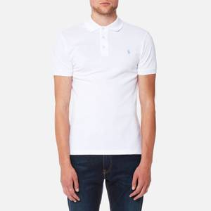 Polo Ralph Lauren Men's Slim Fit Stretch Mesh Polo Shirt - White