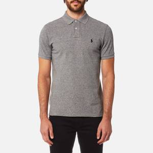 Polo Ralph Lauren Men's Custom Slim Fit Mesh Polo Shirt - Canterbury Heather